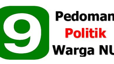 9 Pedoman Politik Warga NU