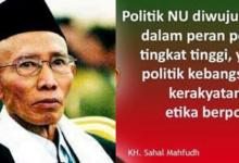 Perjalanan Politik NU 1914-2004