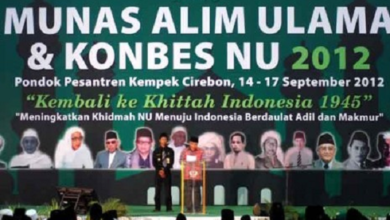 Masail Diniyah MUNAS NU 2012