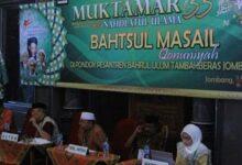 Isu Nasional Dibahas di Muktamar NU ke-33 Di Jombang