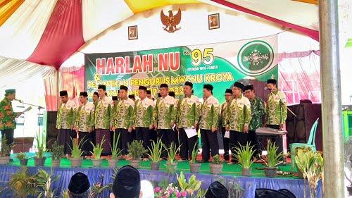 Susunan Pengurus Majelis Wakil Cabang Nahdlatul Ulama MWCNU Kroya 2017-2022 I NU Cilacap
