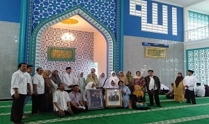 Peresmian Masjid Nur Tjokrosiwojo