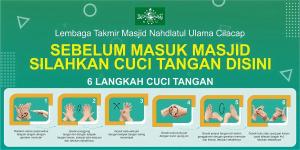 Info Grafis Cara Cuci Tangan