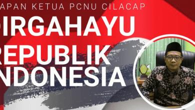 Ucapan Selamat HUT RI ke 75 dari Ketua PCNU Cilacap