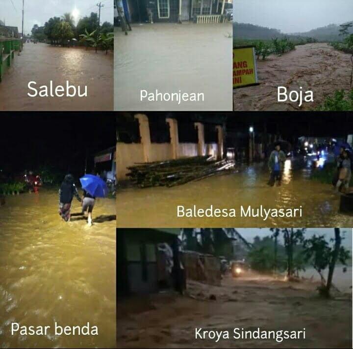 Cilacap Kembali Diterjang Banjir dan Tanah Longsor