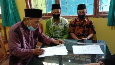 Ikrar Tanah Wakaf MWCNU Bantarsari