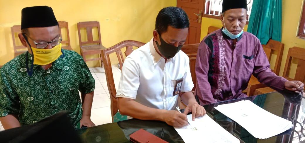 Proses Ikrar Tanah Wakaf MWCNU Bantarsari untuk Bangun Kantor Sekretariat Bersama