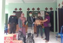 PAC IPNU IPPNU Sampang Bantu Logistik Dapur Umum Karangjati