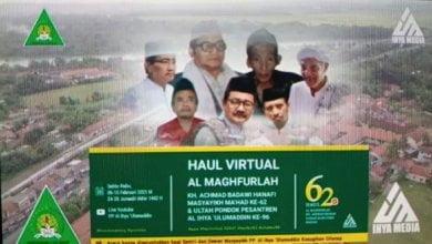 Haul Virtual Pesantren Al Ihya Ulumaddin Kesugihan