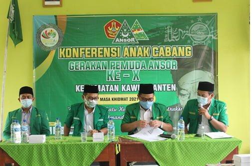 PAC GP Ansor Kawunganten Sukses Menggelar Konferancab-X