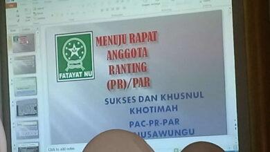 PAC Fatayat NU Nusawungu Bedah LPJ Untuk Samakan Persepsi