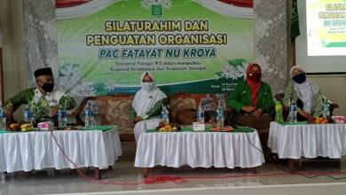 PAC Fatayat NU Kroya Silaturahmi dan Penguatan Organisasi