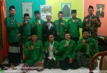 PAC GP Ansor Silaturahmi Ke Pengurus MWCNU Kawunganten