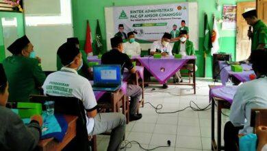 Ansor Cimanggu Perkuat Kapasitas Administrasi Keorganisasian