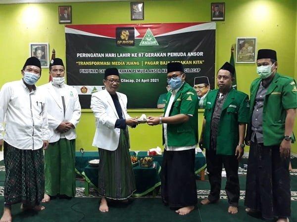GP Ansor Cilacap Peringati Puncak Hari Lahir GP Ansor ke 87
