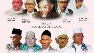 Nama Rais Aam, Ketua Tanfidziyah & Muktamar NU Dalam Sejarah