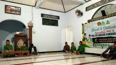 PAC GP Ansor Cimanggu Tarhim Selama Ramadhan 1442