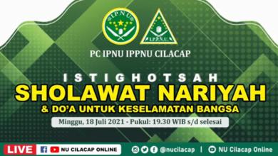 NU Cilacap Online YouTube Live Streaming Doa Istighotsah