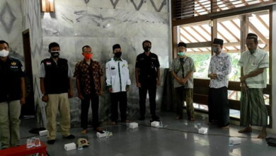 Di Masjid LDII Majenang, Mars Banser & Yalal Wathan Berkumandang