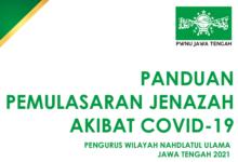 Panduan Pemulasaraan Jenazah Akibat Covid-19 NU Jawa Tengah