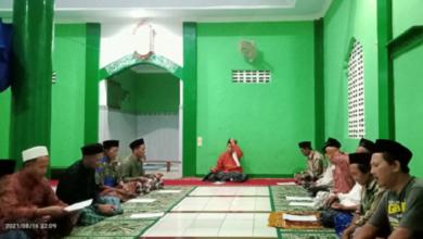Ranting NU Limbangan Wanareja Cilacap Menggelar Doa Bersama