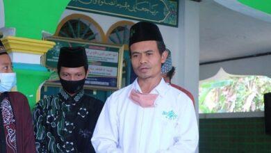 KH Suhud Mawardi Rais Syuriyah MWCNU Kawunganten