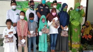 Ranting NU Padangjaya Majenang Santuni 123 Anak Yatim