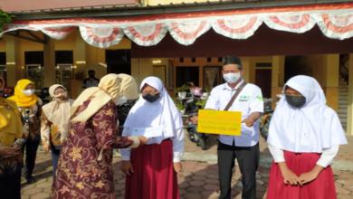 UPZIS MWCNU Cilacap Utara, KORWIL Disdik Dan Camat Santuni Anak Yatim