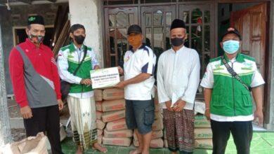 UPZIS MWCNU Wanareja bantu pembangunan tempat ngaji