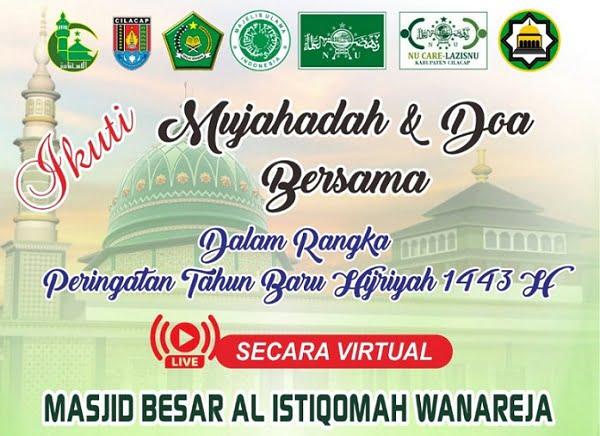 Doa bersama virtual Masjid Besar Alistiqomah Wanareja