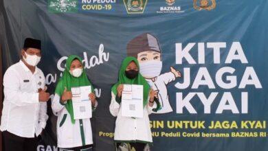 Vaksinasi Merdeka di Kawunganten Cilacap
